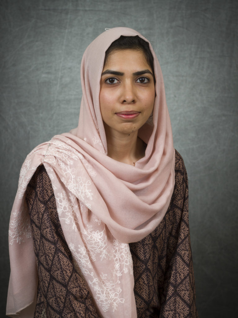 Portrait of Syeda Hamna